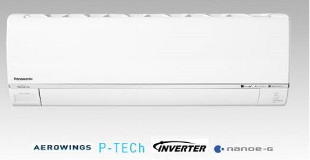 Điều hòa Panasonic 1 chiều 12000btu inverter Gas R32 Cs/Cu-U12SKH-8