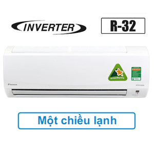 Điều hòa Daikin 12000BTU inverter R32 FTKQ35SVMV Tiết kiệm điện