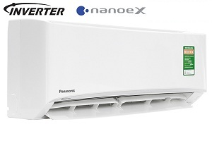 Điều hòa Panasonic 1 chiều 12000btu inverter Gas R32 Cu/Cs-XPU12WKH-8