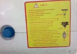 Cảnh báo an toàn khi sử dụng bình nóng lạnh