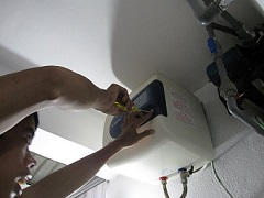 Sửa chữa bình nóng lạnh tại tây hồ